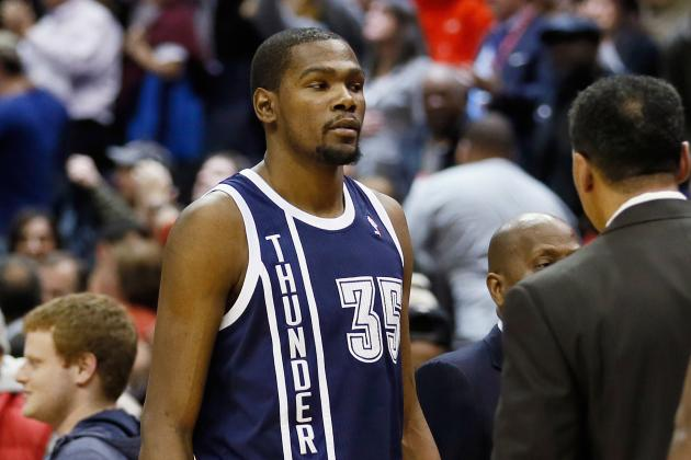 Oklahoma City Thunder: No More Mr. Nice Guy for Kevin Durant