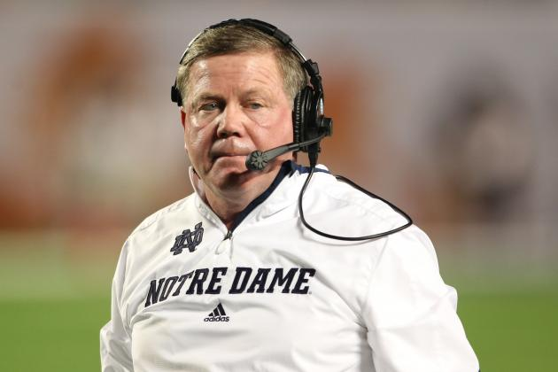 Brian Kelly Staying at Notre Dame: What It Means for Recruiting