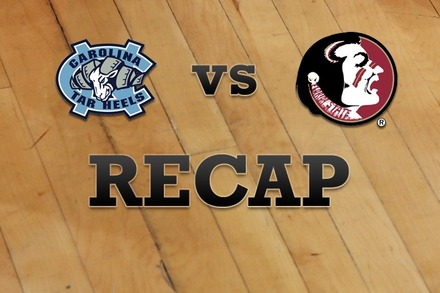 North Carolina vs. Florida State: Recap and Stats