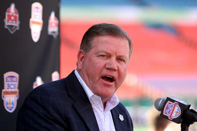Brian Kelly Staying at Notre Dame: He Would Have Been a Fool to Go to the NFL