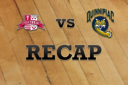Sacred Heart vs. Quinnipiac: Recap and Stats