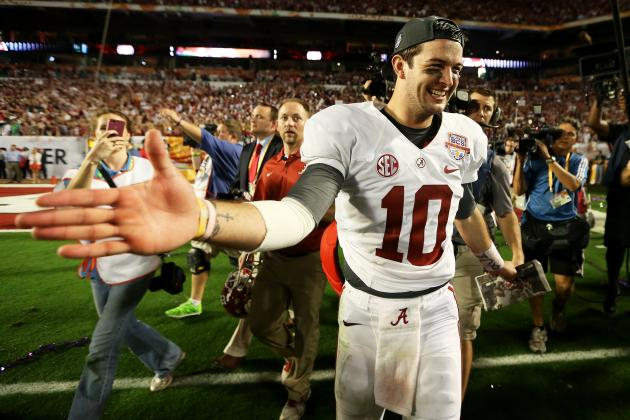 AJ McCarron: Alabama QB Should Declare for NFL Draft Now