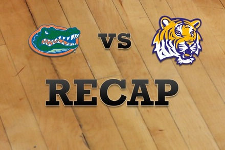 Florida vs. LSU: Recap and Stats