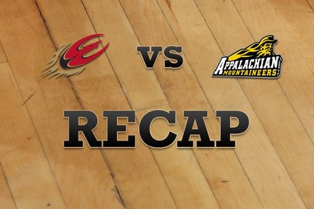 Elon vs. Appalachian State: Recap and Stats
