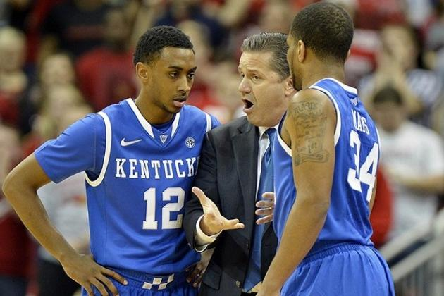 Kentucky Not an NCAA Tournament Team -- Right Now