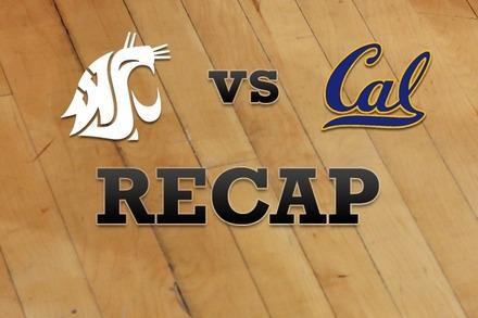 Washington State vs. California: Recap and Stats
