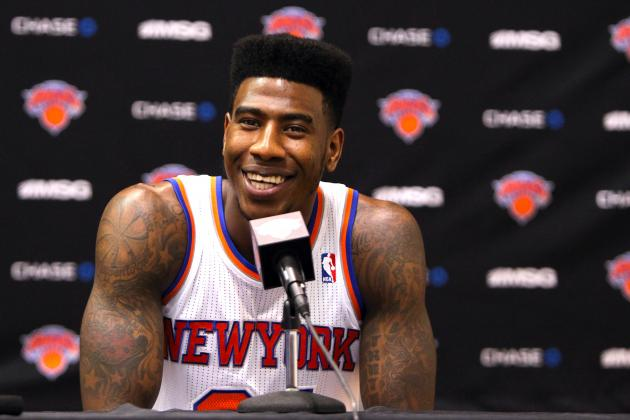 Knicks Rumors: Iman Shumpert Nearing Return, Will Likely Play in London