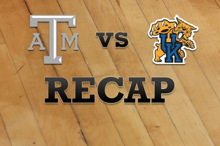 Texas A&M vs. Kentucky: Recap and Stats