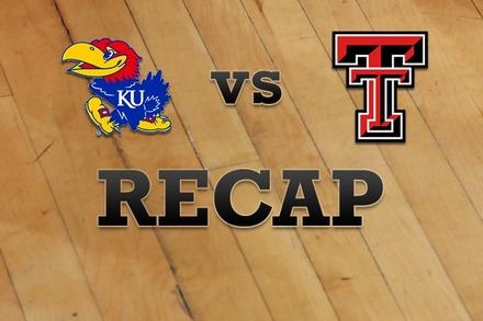 Kansas vs. Texas Tech: Recap and Stats
