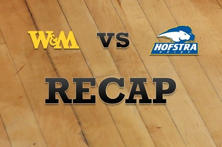 William & Mary vs. Hofstra: Recap and Stats
