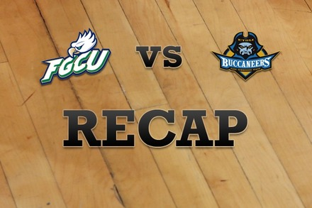 Florida Gulf Coast vs. East Tennessee State: Recap and Stats