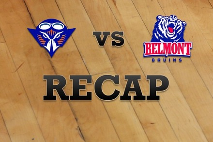 Tennessee-Martin vs. Belmont: Recap and Stats