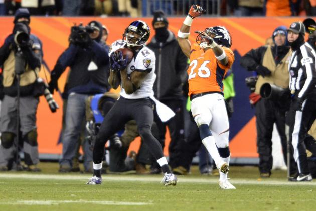 Denver's Defense Fails Big Time as Jacoby Jones Hauls in Game-Tying TD