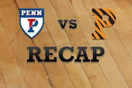 Penn vs. Princeton: Recap and Stats