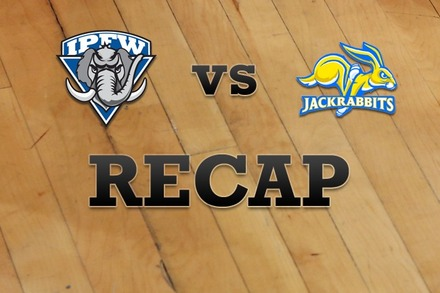 IPFW vs. South Dakota State: Recap and Stats