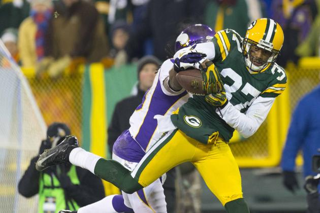 Packers' Sam Shields Starts with a Pick-Six in San Francisco