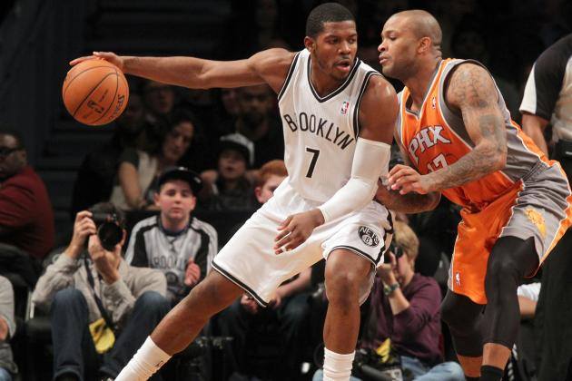 Nets' Joe Johnson Takes His Game Up Notch