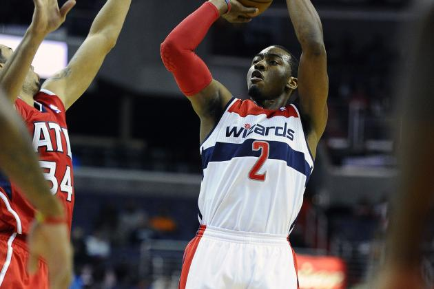 Wall's Return Gives Wizards Win over Hawks