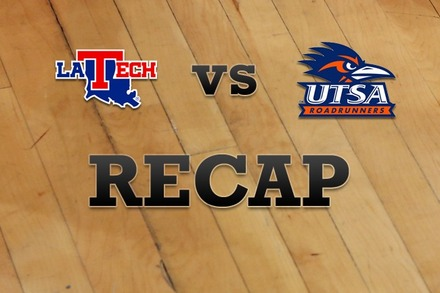 Louisiana Tech vs. Texas at San Antonio: Recap and Stats