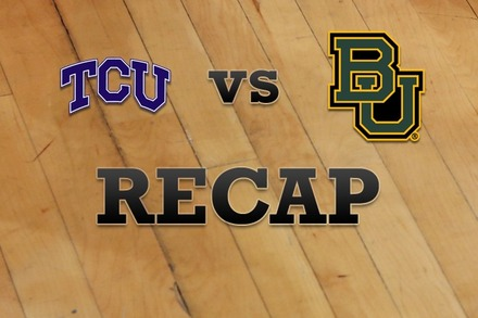 TCU vs. Baylor: Recap and Stats