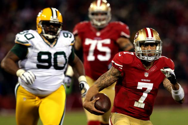 Kaepernick Breaks NFL Record for Rush Yards by a QB in Playoff Game