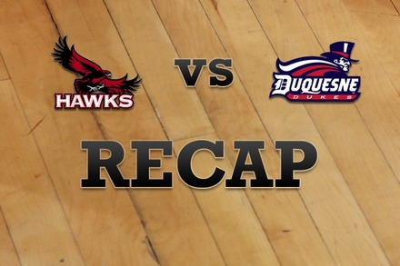 Saint Joseph's vs. Duquesne: Recap and Stats