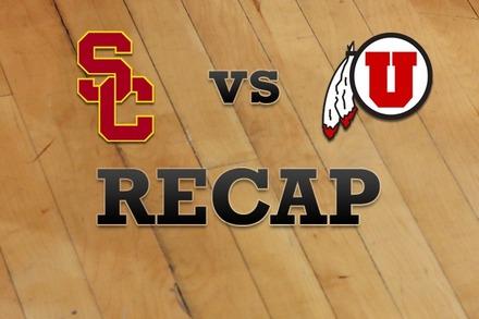 USC vs. Utah: Recap and Stats
