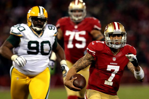 Colin Kaepernick Sets New NFL Postseason QB Rushing Record