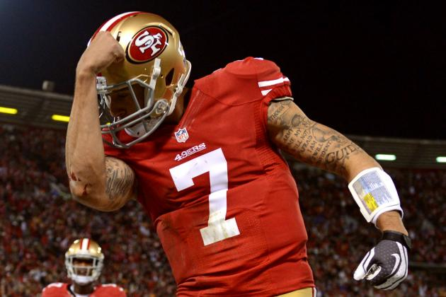 Colin Kaepernick Breaks QB Rushing Record with Whopping 181-Yard Game vs Packers
