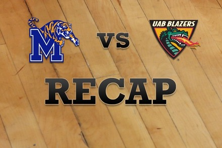 Memphis vs. UAB: Recap and Stats
