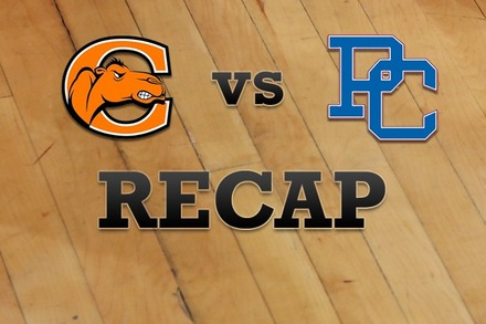 Campbell vs. Presbyterian: Recap and Stats