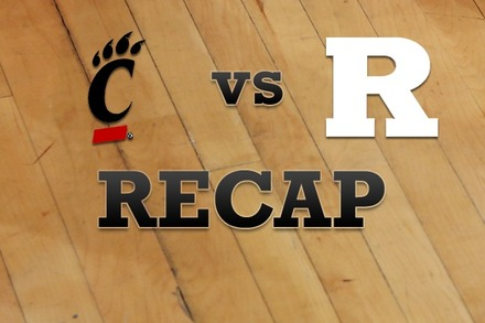 Cincinnati vs. Rutgers: Recap and Stats