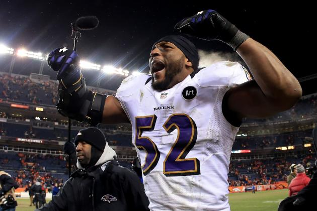 Ray Lewis: Ravens LB Refuses to Retire Quietly in Huge 17-Tackle Performance