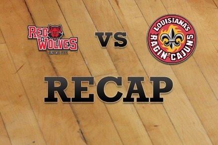 Arkansas State vs. Louisiana-Lafayette: Recap and Stats