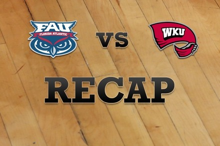 Florida Atlantic vs. Western Kentucky: Recap and Stats