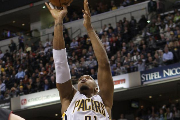 Pacers Survive Bobcats Behind David West's 1st Career Triple Double