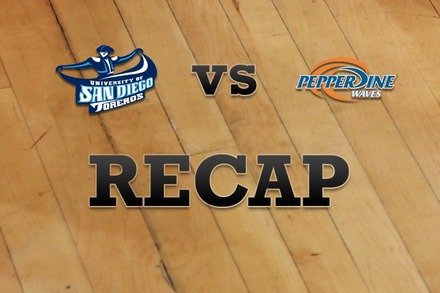 San Diego vs. Pepperdine: Recap and Stats