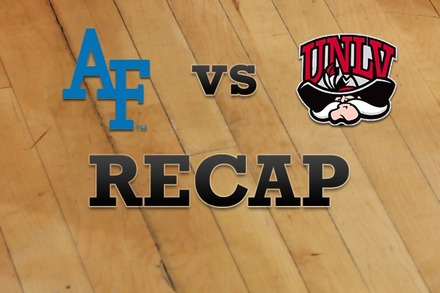 Air Force vs. UNLV: Recap and Stats