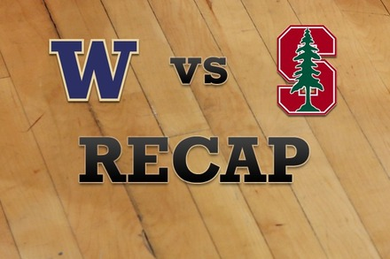 Washington vs. Stanford: Recap and Stats