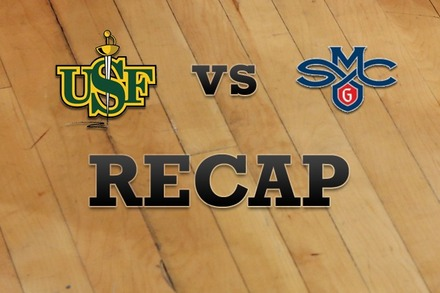 San Francisco vs. Saint Mary's: Recap and Stats