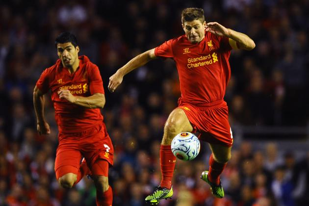 Suarez, Gerrard Start vs. Man Utd; Sturridge Begins on Bench