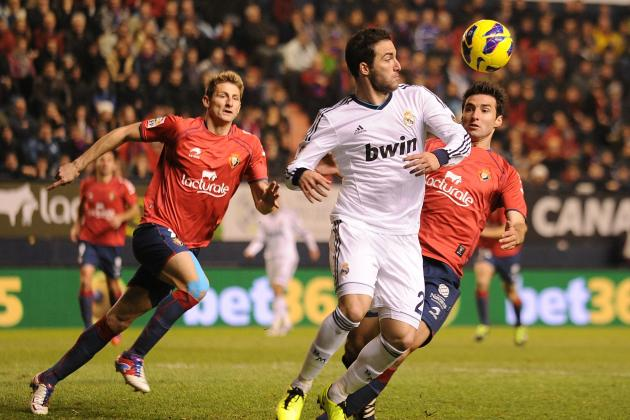 Osasuna 0-0 Madrid: Kaka Red in Draw