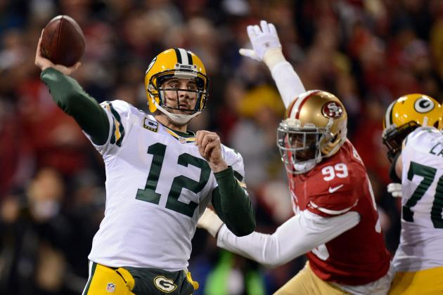Aaron Rodgers: Packers QB Has Awful Performance Against 49ers in NFC Playoffs