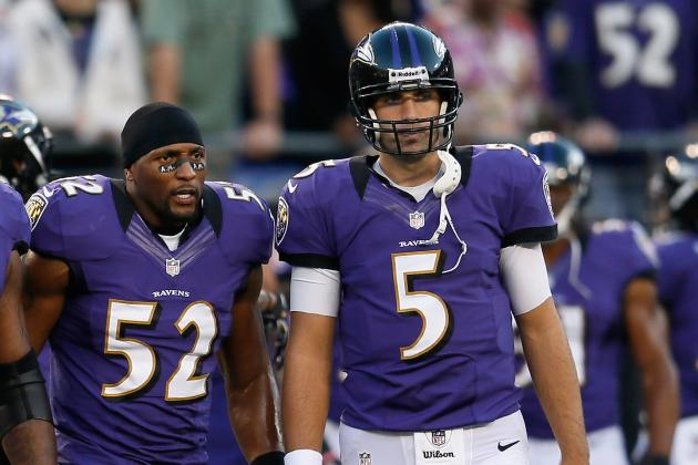 Ravens' Ray Lewis to Joe Flacco: 'You're the General'