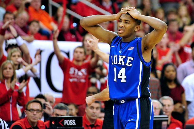 Duke Basketball: What Blue Devils Must Do to Rebound from 1st Loss of Season