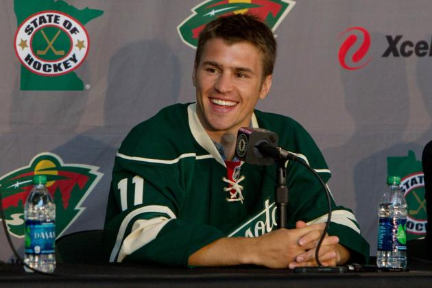 Change Hits Home (Ice) for Parise