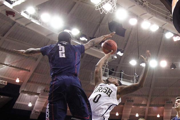 Notre Dame Never in Rhythm in 65-58 Loss to UConn