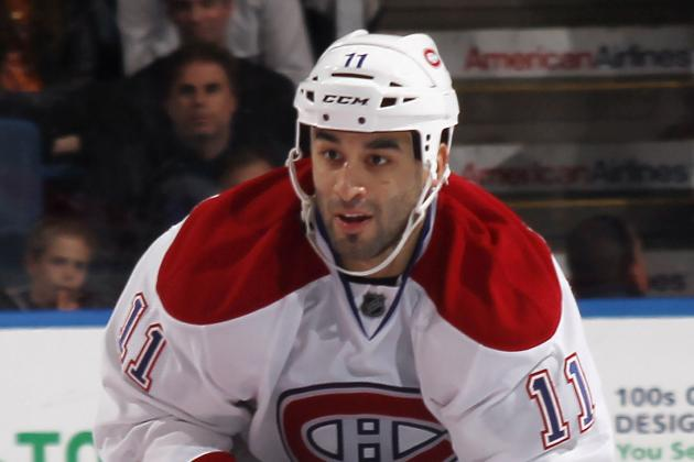 Canadiens Send Scott Gomez Home for the Season, Buyout Coming This Summer