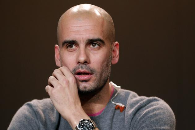 Guardiola to Replace Mancini as Manager of Manchester City, Paper Claims