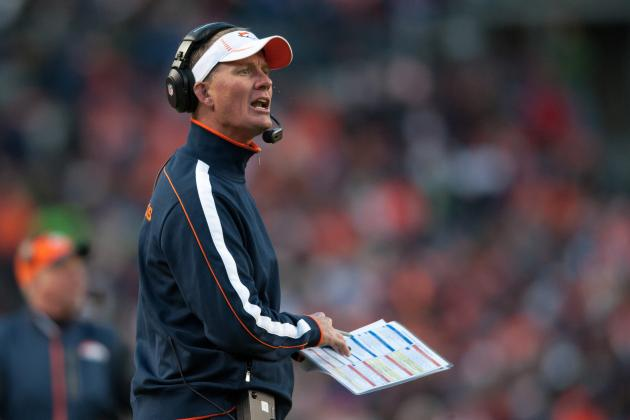 Broncos OC Mike McCoy to Interview for Chargers' Head-Coaching Post